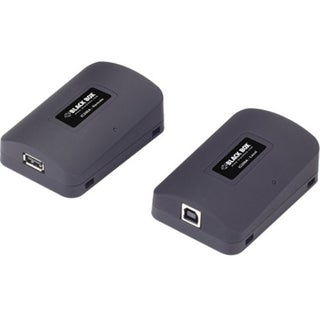 Black Box USB 1.1 and 2.0 CAT5 Extender, 2-Port