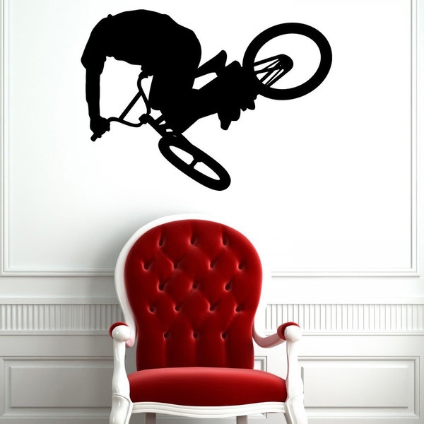 BMX Bike Vinyl Wall Art