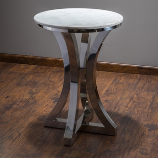 Christopher Knight Home Paris Stainless Steel Side Table