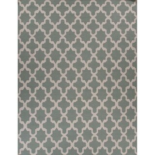 Maroc Geometric Pattern 8x10 Flat-Weave Rug