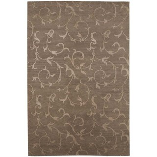 Earth Oriental Pattern 5x8 Hand-Knotted Rug