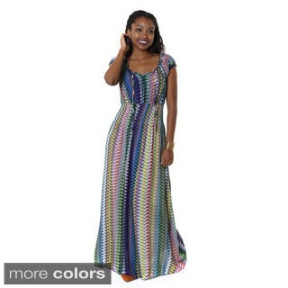 Hadari Women's Tribal Maxi Dress