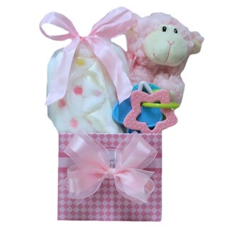 Happy Easter Baby Girl: Easter Gift Basket Newborn to 18 Months