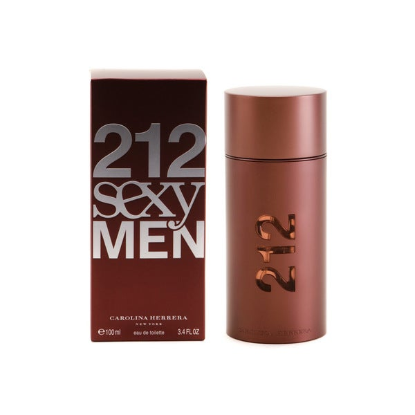 Carolina Herrera 212 Sexy Mens 3.4-ounce Eau de Toilette Spray
