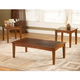 Brown Cherry Promo Coffee Table Set of 3