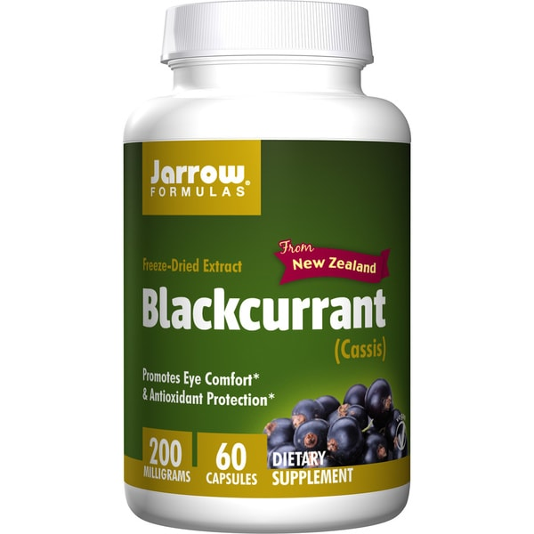 Jarrow Formulas Blackcurrant Freeze-Dried Extract (60 Vegetarian Capsules)