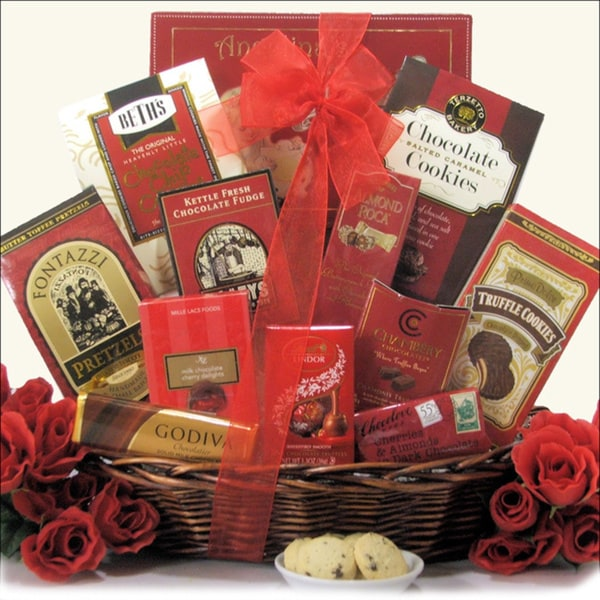 Chocolate Treasures: Chocolate and Sweets Gift Basket