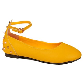 Dusaka Women's '262' Yellow Flat