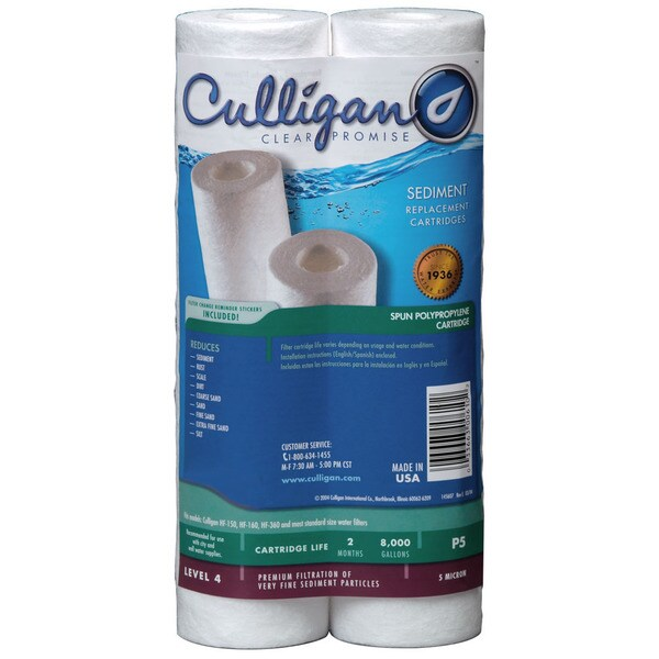 P5-D Culligan Level 4 Whole House Filter Replacement Cartridge (2-pack) 15082633
