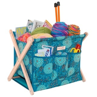 Folding Knitting Caddy