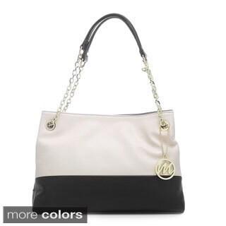 Emilie M Cheri Chain Double Shoulder Bag