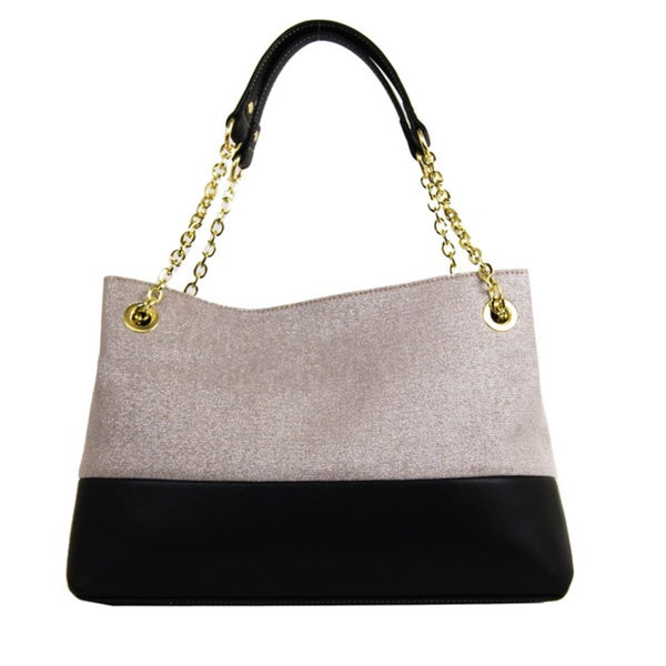 Emilie M Roxanne Chain Shoulder Bag