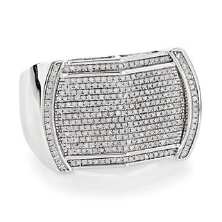 Luxurman 10k Gold Men's 5/8ct TDW Diamond Ring