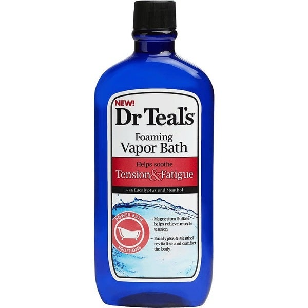 Dr. Teal's Tension & Fatigue 16-ounce Foaming Vapor Bath