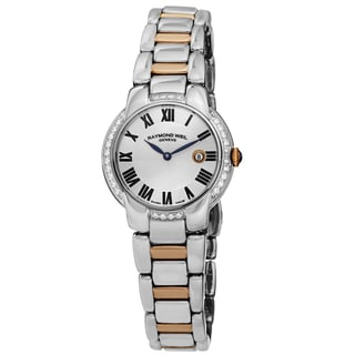 "Raymond Weil Women's 5229-S5S-00659 ""Jasmine"" Classy Diamond Two Tone Stainless Steel Watch"