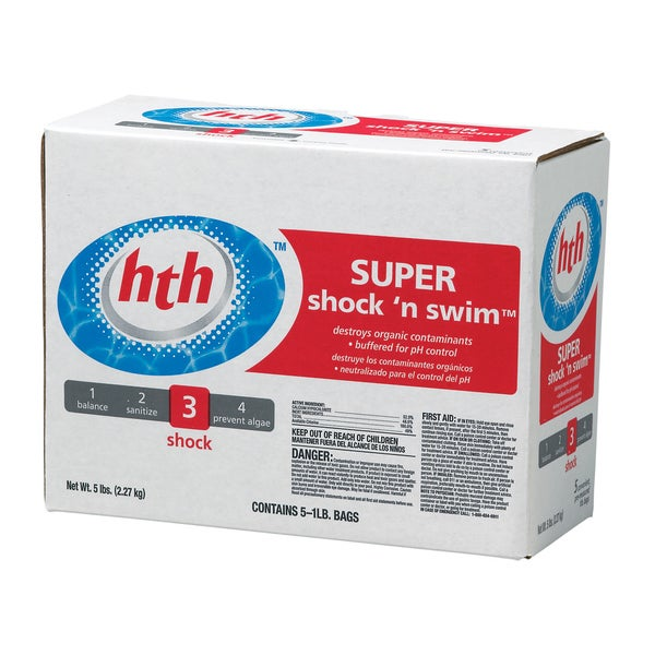 HTH Swimming Pool Granular Super Shock 'n Swim