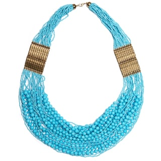 Beaded Draped Necklace (India)