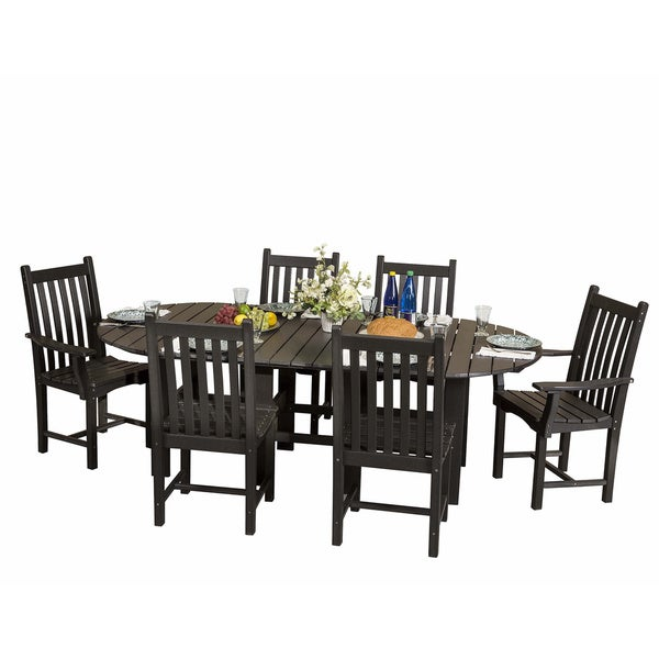 Somette Terra Poly Lumber Outdoor 7-piece Dining Set