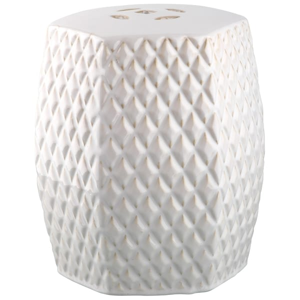 Safavieh Kids Cream Diamonds Cream Childrens Garden Stool