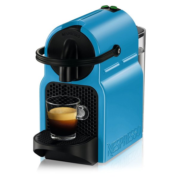 Nespresso D40USPBNE Inissia Pacific Blue Espresso Maker