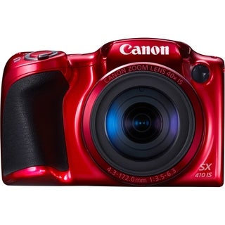 Canon PowerShot SX410 IS 20 Megapixel Compact Camera - Red