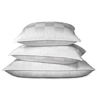 Hotel Grand Italian Check 1000 Thread Count Siberian White Down Pillow