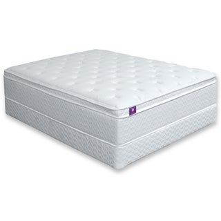 Furniture of America Dreamax 18-inch Cal King-size Euro Pillow Top Hybrid Mattress