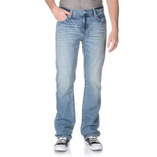 Seven7Jeans Men's Luxury Denim Medium Wash Straight Leg Jean