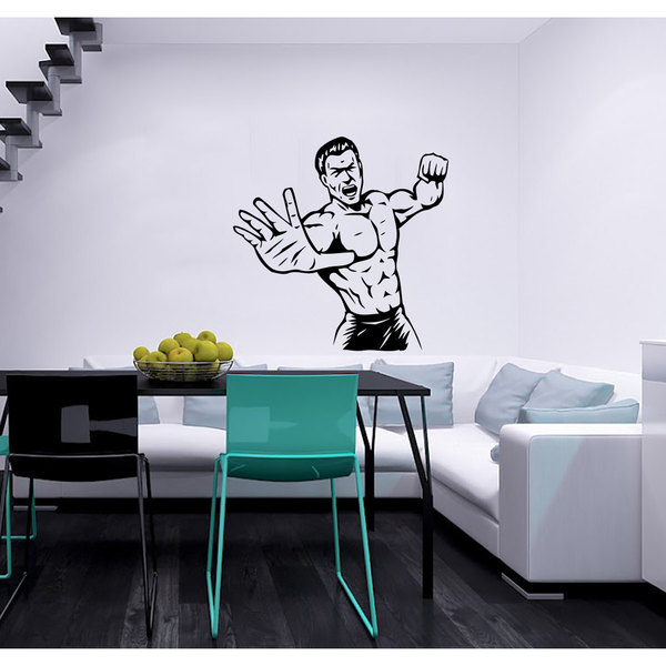 MMA Mixed Martial Arts GYM Decor crossfit Vinyl Wall Art