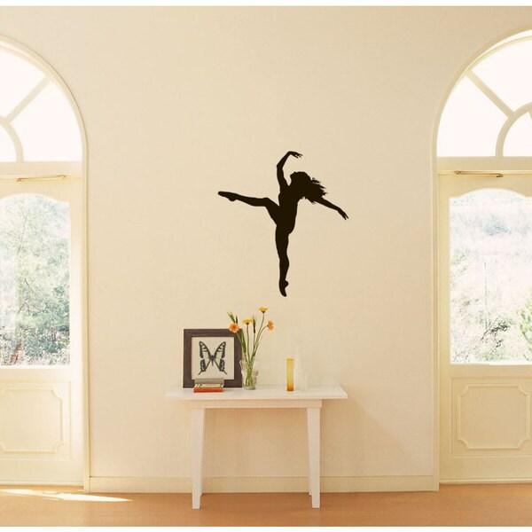 Ballet Dance Studio Ballerina Vinyl Wall Art