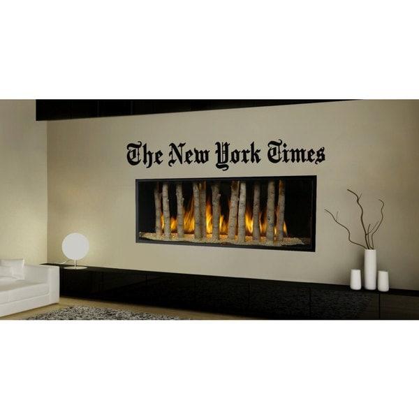 New York Times Sticker Vinyl Wall Art