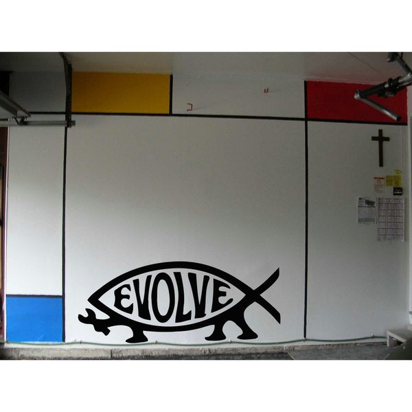 Evolve Repair Sticker Vinyl Wall Art