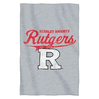 Rutgers Sweatshirt Throw Blanket