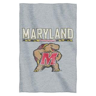 Maryland Sweatshirt Throw Blanket