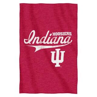 Indiana Sweatshirt Throw Blanket