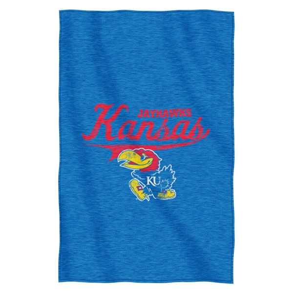 Kansas Sweatshirt Throw Blanket