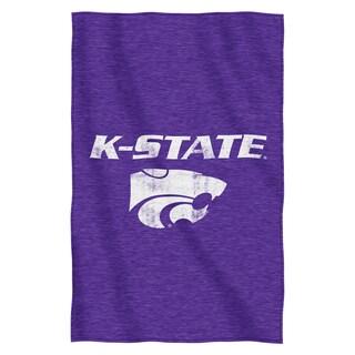 Kansas State Sweatshirt Throw Blanket