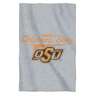 Oklahoma State Sweatshirt Throw Blanket