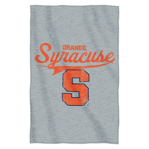 Syracuse Sweatshirt Throw Blanket