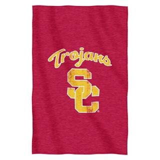 USC Sweatshirt Throw Blanket