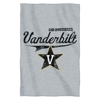Vanderbilt Sweatshirt Throw Blanket