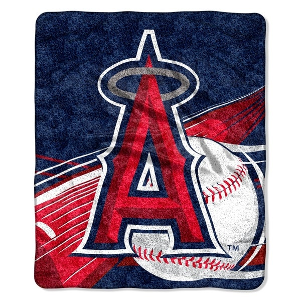 Angels Sherpa Throw Blanket
