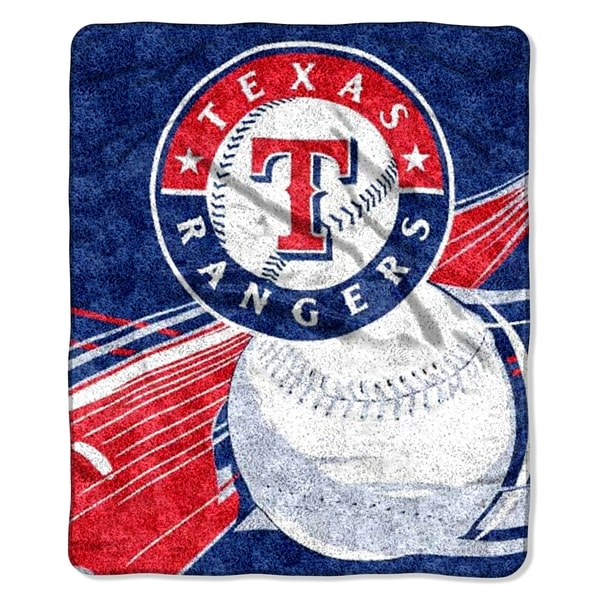 Rangers Sherpa Throw Blanket
