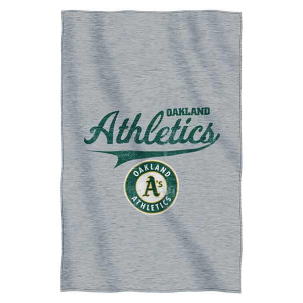 Athletics Sweatshirt Throw Blanket