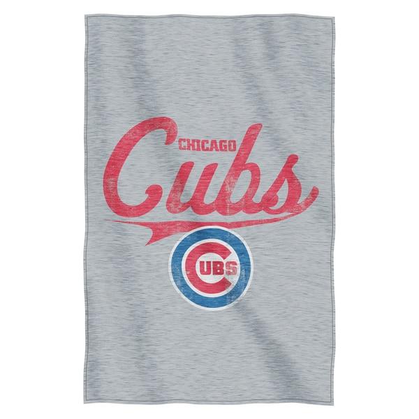 Cubs Sweatshirt Throw Blanket