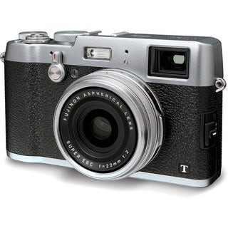 Fujifilm X100T 16MP Silver Digital Camera