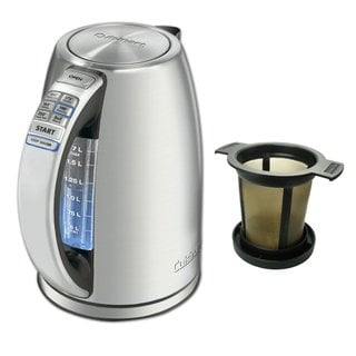 Cuisinart CPK-17 Perfectemp Cordless Electric Kettle + Brewing Basket (Refurbished)