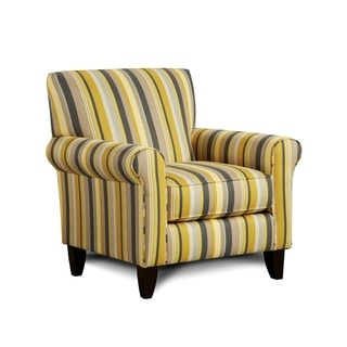Furniture of America Gianne Contemporary Striped Club Chair