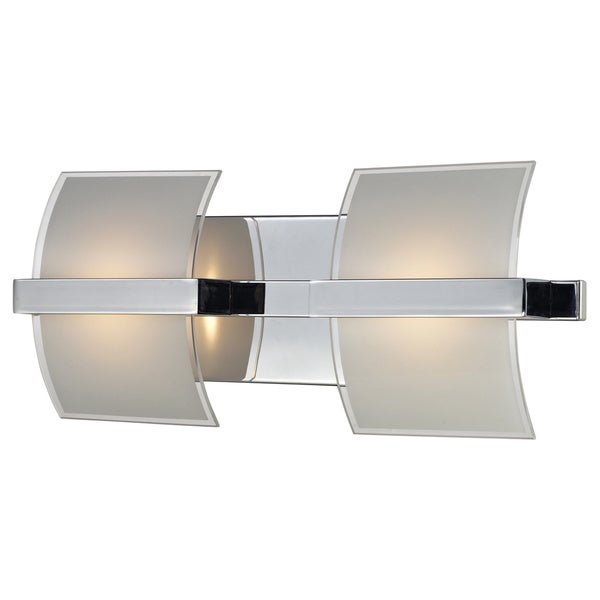 Epsom Polished Chrome 2-5W LED Light