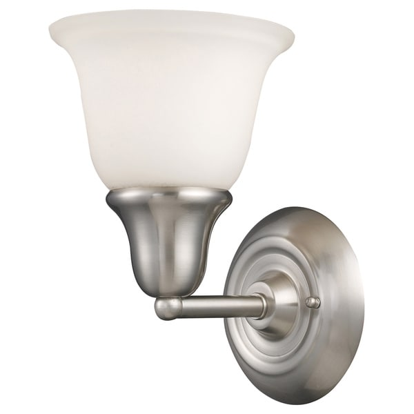 Berwick Brushed Nickel 1-light Vanity